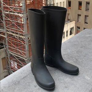 J crew Weatherby tall rain boots